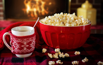 Coffee & popcorn