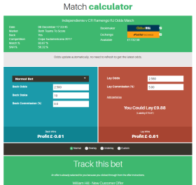 Match calculator